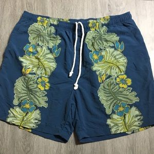 Tommy Bahama Swim Trunks Floral Hawaiian XL Mens